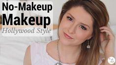 Hollywood Style No-Makeup Makeup Tutorial | ali chat