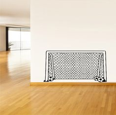 As Headboard or use real netting - Wall Vinyl Sticker Decals Mural Design Art by HOMEOFSTICKERS, $28.99