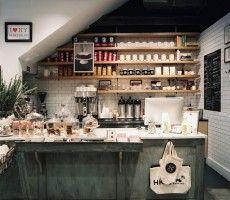 rustic coffee bar ideas