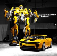"Who likes the Chevy Camaro, featured as ""BumbleBee""in the Transformers films?"
