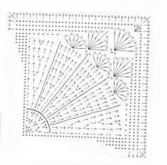 Patrones Crochet: Manta con Punto en Espiral Patron http://patronesparacrochet.blogspot.be/2013/09/capa-exagonal-sin-forma-patron.html