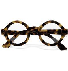Selima OptiqueRound-Framed Tortoiseshell Optical Glasses|MR PORTER