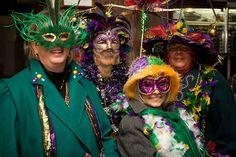 Mardi Gras celebration in Deadwood!