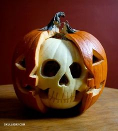 Future Drill family pumpkin carving.