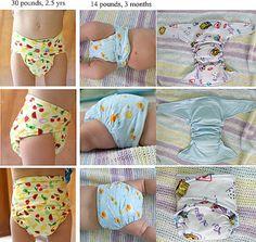 Home of the Free RRP Diaper pattern!: Classic RRP (Rita's Rump Pocket) pattern.