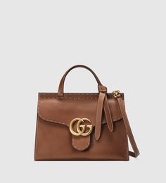 Borsa shopping GG marmont in pelle #gucci #pe2016