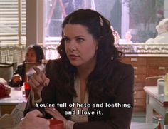 She supports you through your angsty phase. | 24 Reasons Why Lorelai Gilmore Is The Coolest Mom Ever