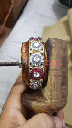 Gold Temple Jewellery, Diamond Necklaces, Bangles, Bracelets, Jewellery Making, Jewelry Design, Accessories, Jewelry, Jewelry Making