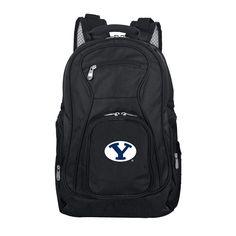 BYU Cougars Premium Laptop Backpack, Black