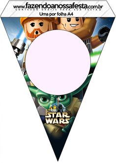 Bandeirinha Varalzinho Lego Star Wars: