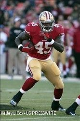 """Brandon Jacobs back to running at """"full bore"""""""