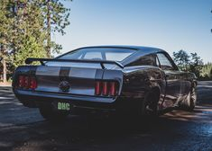 Custom Mustang Fastback's, Mach and