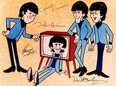 Beatles (cartoons) - The Beatles Photo (2503550) - Fanpop