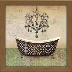 french vintage bath