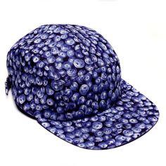 MOUPIA Blueberries 5 Panel Hat
