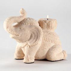 Sitting Elephant Decor ~Need. Must have this. Elephants are an amazing, highly misunderstood animal.