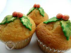 Muffins Navidad