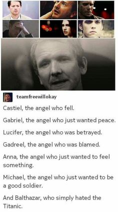 Show me the person that doesn't love Balthazar. I'll hate this person more than I hate Moffat's wish to kill great people.