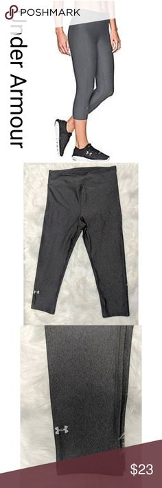 c5932cf2 Under Armour HeatGear Compression Capris, S Ring in your New Year's  resolution when you wear
