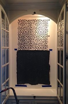 Cutting Edge Stencils shares a DIY stenciled china cabinet using the Leopard Skin Allover stencil pattern. Stencil Diy, Stenciling, Leopard Room, Cutting Edge Stencils, Painted Furniture, Furniture Ideas, Cabinet Makeover, Leopard Pattern, Furniture Restoration