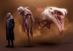 Dune redesign: guild navigator stages by SimonDubuc.deviantart.com on @DeviantArt