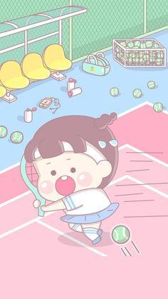 mi Kawaii Wallpaper, Disney Wallpaper, Wallpaper Backgrounds, Iphone Wallpaper, Kawaii Doodles, Kawaii Art, Disney Tapete, Cute Lockscreens, Anime School Girl
