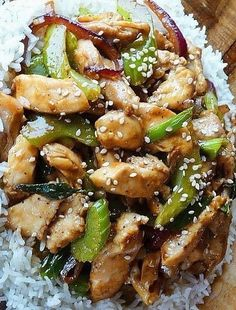 Recipe For Black Pepper-Garlic Chicken - Here's one on my favorite Stir-fry recipes, inspired by Black Pepper Chicken served at Panda Express Restaurants.
