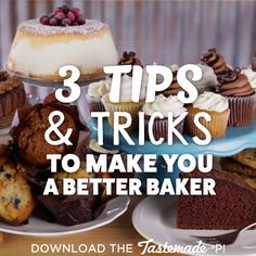 Use these five simple hacks to help your baked goods rise to the next level.