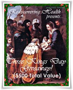 THREE KINGS DAY GIVEAWAY