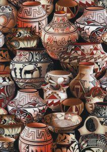 pottery fabric