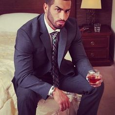 lazar angelov - can't go wrong with a navy suit