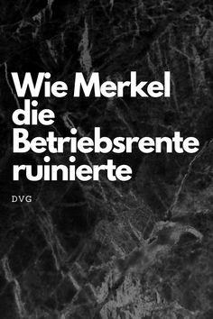 Arm im Alter scheint des Schicksal vieler Deutsche zu sein – daran muss sich dringend etwas ändern. #betriebsrente #altersarmut #merkel Retirement, Long Term Care Insurance