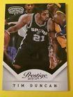 For Sale  - 2013-14 Panini Prestige Tim Duncan #120 San Antonio Spurs