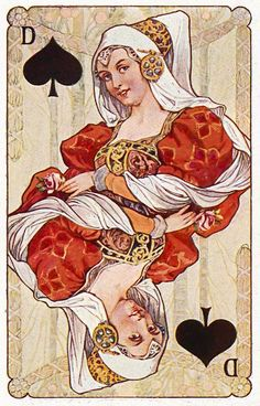 #PlayingCardsTop1000 - Gewaendern - Queen of spades