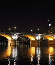 Torino, Italy, the Po River