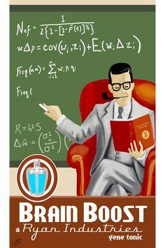 Brain Boost by Spetit05.deviantart.com on @DeviantArt Bioshock 2, Bioshock Infinite, Bioshock Rapture, Video Game Art, Video Games, In A Nutshell, Kingdom Hearts, Brain, Photoshop