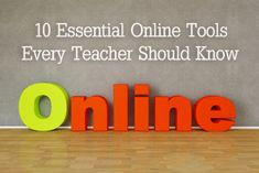 Essential Online Tools Every Teacher Should Know: Puzzle Makers, Dictionary, Plagiarism Detector, Flashcard Maker, Report Card Creator, Grammar and Spelling Checker