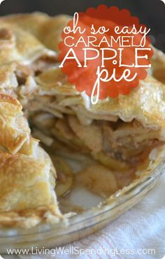 Don't miss the secret weapon that makes this almost-from-scratch apple pie come together in just a few minutes!  A must-have recipe for all apple pie lovers!