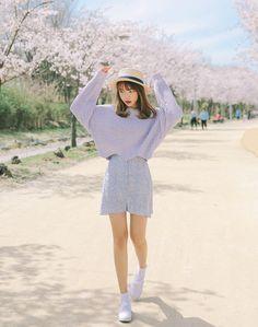 Korean Fashion Casual Spring Feminine Elegant Outfit                                                                                                                                                                                 More