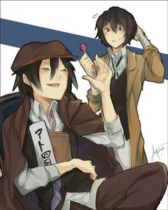 Dazai and Ranpo