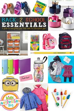 Must Have Back-To-School Essentials Guide! - Don't miss out on this comprehensive guide to all things back-to-school! Click now!
