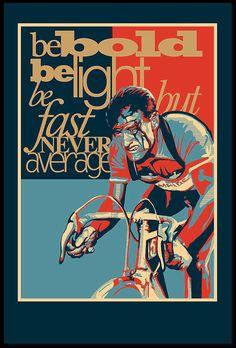Vintage Retro Tour de France Cycling Print by ArtBySassanFilsoof