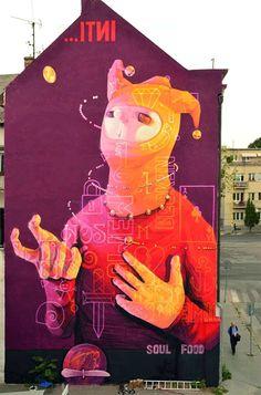 INTI, Slovakia. #inti http://www.widewalls.ch/artist/inti/
