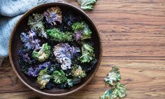 Our 10 best: Kale is shown at its best in these savoury crisps, a refreshing stew and an invigorating salad