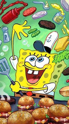 02 Spongebob - SquarePants Animated Childen TV Show Poster Spongebob Iphone Wallpaper, Wallpaper Iphone Cute, Cute Wallpapers, Spongebob Patrick, Spongebob Memes, Spongebob Squarepants, Spongebob Drawings, Cute Disney Wallpaper, Classic Cartoons