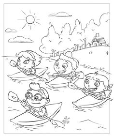 little einsteins coloring pages 36 coloring pages for kids pinterest little einsteins minis and coloring pages
