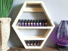 Essential Oil Storage Shelf - Nail Polish Storage - Bathroom Storage  - Kitchen Storage - Gift for Her - Birthday Gift - Gift for Mom by UrbanAlloy on Etsy