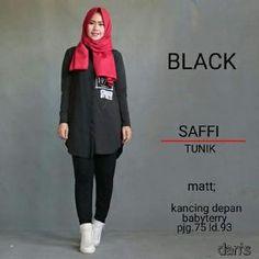 Saffi Tunik Black