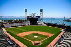 A Sunny Day at AT'&'T Park in San Francisco.