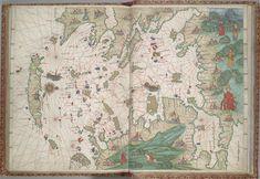 Aegean Sea Map from the Vallard Atlas